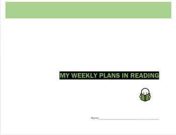 Week by Week Reading Planner - Template