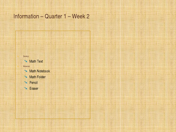 Week of Lesson Plans - 1.OA.1