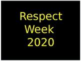 Week of Respect Activities