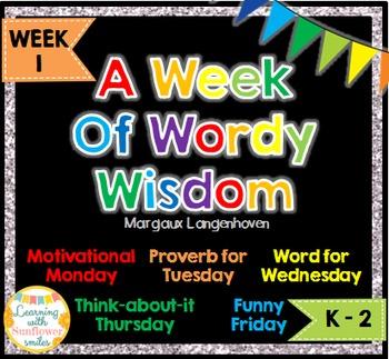 Week of Words