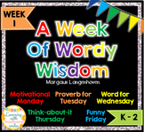 Week of Words