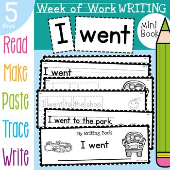 Week of Writing - I went