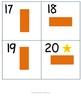 Kindergarten Math Calendar - Weekdays and weekends with 2D shapes