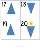 Kindergarten Math Calendar - Weekdays and weekends with 2D shapes