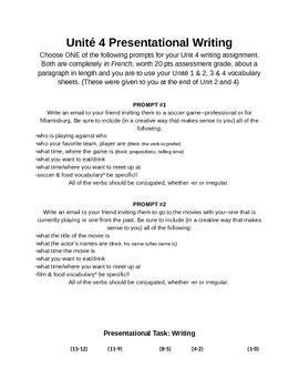 Weekend Activities Writing Prompt