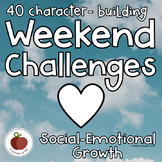 Social Skills - Kindness - Weekend Challenges - Social-Emotional - STEAM