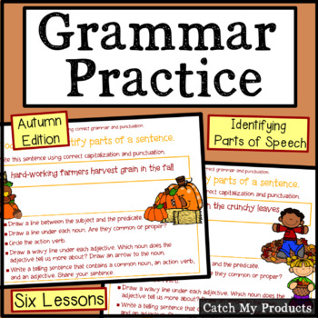 Grammar Groomer (Autumn Edition) Power Point