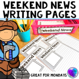 Weekend News Template Writing Pages