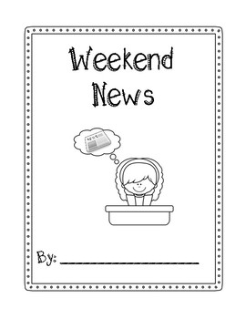 Weekend News Journal- differentiate pages included