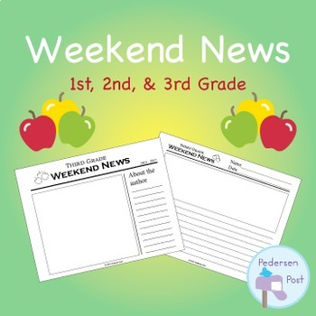 Weekend News Template