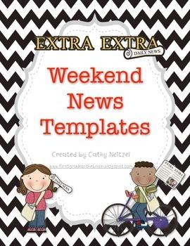 Weekend News Templates