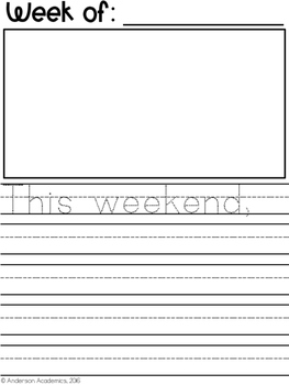 Weekend News - Weekly Writing