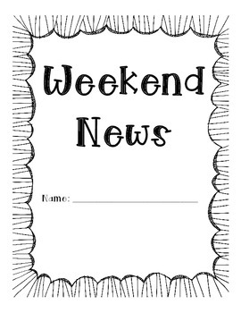 Weekend News Writing