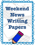 Weekend News Writing Bundle