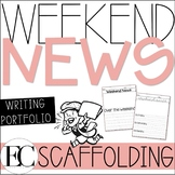 Weekend News Writing Portfolio BUNDLE!