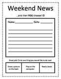 Weekend News...and then YOU choose!