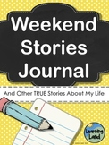 Weekend Stories Journal