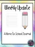 Weekend Writing Journal!