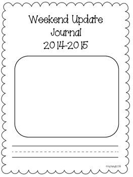 Weekend Update Journal
