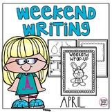 Weekend Writing-April