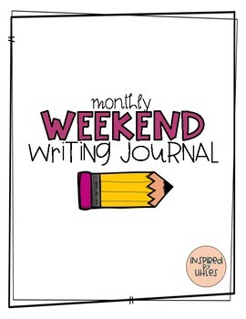 Weekend Writing Journal