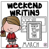 Weekend Writing-March