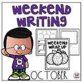 Weekend Writing-October