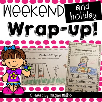 Weekend and Holiday Wrap-up