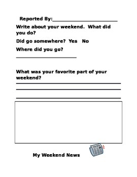 Weekends-Three Levels