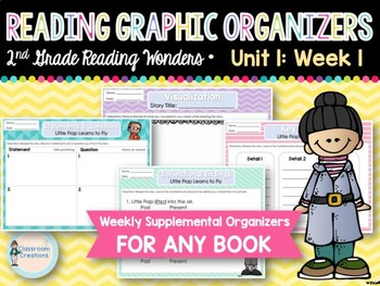 Weekly 2nd Grade Graphic Organizers (Unit 1, Week 1)