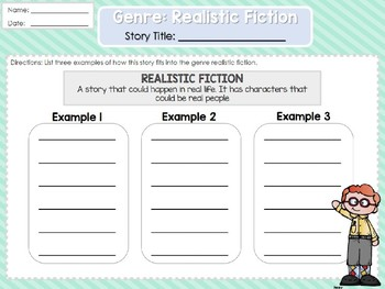 Weekly 2nd Grade Reading Graphic Organizers (Unit 2, Week 1)