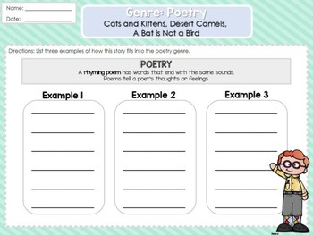 Weekly 2nd Grade Reading Graphic Organizers (Unit 2, Week 5)