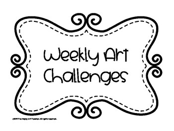Weekly Art Challenges