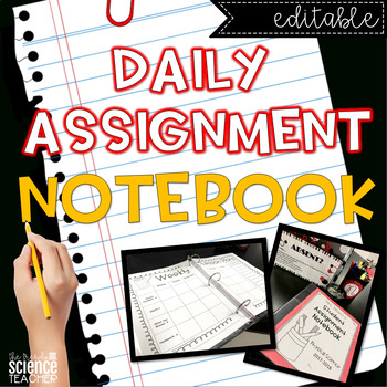 Weekly Assignment Notebook {Classroom Management}