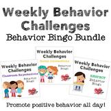 Weekly Behavior Challenges Bundle
