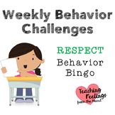 Weekly Behavior Challenges: Respect
