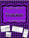 Weekly Behavior Management Tracker