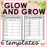 Weekly Behavior Report (Glow and Grow)