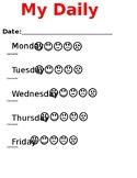 Weekly Behavior Report - Simple