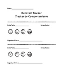 Weekly Behavior Tracker (bilingual)