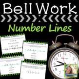Math Warm Ups Number Lines