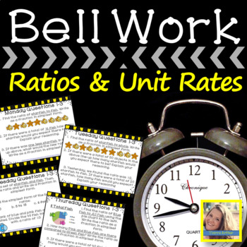 Weekly Bell Work: Ratios and Unit Rates