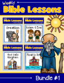 Weekly Bible Lessons: Bundle #1