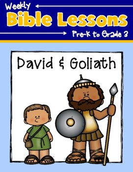 Weekly Bible Lessons: David and Goliath
