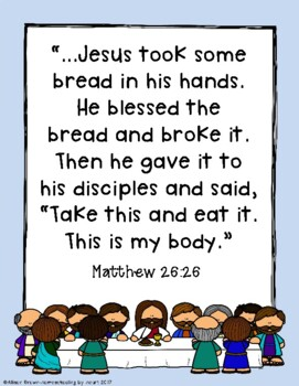 Weekly Bible Lessons: Easter Part 1 (Jesus Enters Jerusalem and the Last Supper)