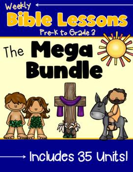 Weekly Bible Lessons {Mega Bundle}