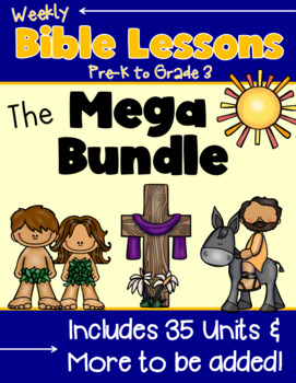 Weekly Bible Lessons {Mega Bundle}