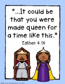 Weekly Bible Lessons: Queen Esther