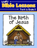 Weekly Bible Lessons: The Birth of Jesus