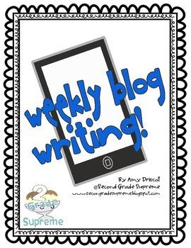 Weekly Blog Post Writing